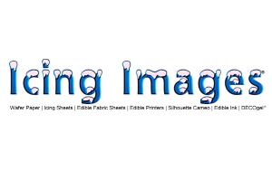 Icing Images logo. Official Sponsor of the Sweet Fest Business Conference. A cake show for bakers and sweet makers.